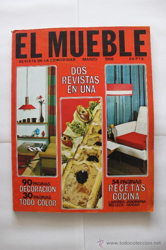 REVISTA EL MUEBLE - Nº 51 - MARZO 1966 (Coleccionismo - Revistas y Periódicos Modernos (a partir de 1.940) - Otros)