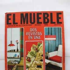 Coleccionismo de Revistas y Periódicos: REVISTA EL MUEBLE - Nº 51 - MARZO 1966. Lote 30299599