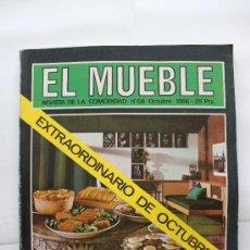 Coleccionismo de Revistas y Periódicos: REVISTA EL MUEBLE - Nº 58 - OCTUBRE 1966. Lote 30299621