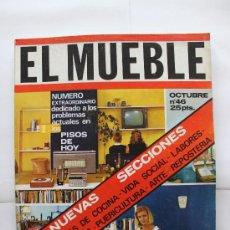 Coleccionismo de Revistas y Periódicos: REVISTA EL MUEBLE - Nº 46 - OCTUBRE 1965. Lote 30299685