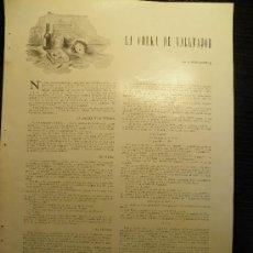 Coleccionismo de Revistas y Periódicos: AÑO 1939 RECORTE PRENSA CHECAS CHEKA DE VALLMAJOR GUERRA CIVIL REPUBLICANOS TORTURA EDGAR NEVILLE. Lote 30307087