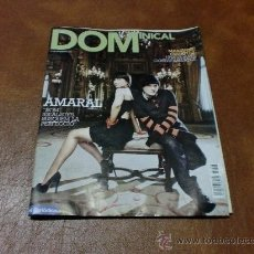 Coleccionismo de Revistas y Periódicos: REV DOMINICAL 6/2008 AMARAL AMPLIO RPTJE.SKAGEN (DINAMARCA),PATRICK DEMPSEY,M. FAITHFULL,. Lote 30311001