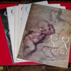 Coleccionismo de Revistas y Periódicos: LOTE DE 4 EJEMPLARES REVISTA DE ARTE GOYA.NºS 126,180,185,190. Lote 45704032