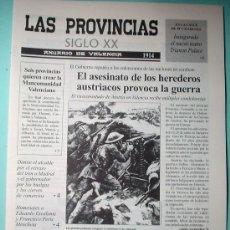 Coleccionismo de Revistas y Periódicos: PERIÓDICO. LAS PROVINCIAS SIGLO XX. ANUARIO DE VALENCIA. 1914-1915. DIARIO.. Lote 30348094