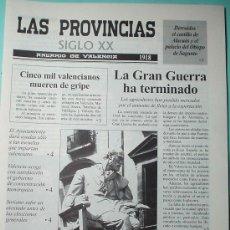 Coleccionismo de Revistas y Periódicos: LAS PROVINCIAS SIGLO XX. ANUARIO DE VALENCIA. 1918-1919. Lote 30348338