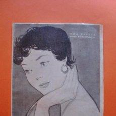 Coleccionismo de Revistas y Periódicos: MARISOL Nº 34 SEPTIEMBRE 1954 - MODA - GENE NELSON - ANN BLYTH. Lote 30361273