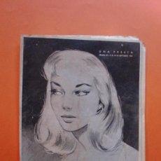 Coleccionismo de Revistas y Periódicos: MARISOL Nº 33 SEPTIEMBRE 1954 - HIS OWN - CONTRAPORTADA VESTIDOS CHRISTIAN DIOR. Lote 30362945
