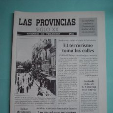 Coleccionismo de Revistas y Periódicos: PERIÓDICO. LAS PROVINCIAS SIGLO XX. ANUARIO DE VALENCIA. 1920-1921. DIARIO. Lote 30410335