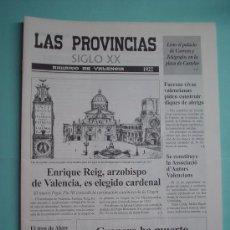 Coleccionismo de Revistas y Periódicos: LAS PROVINCIAS SIGLO XX. ANUARIO DE VALENCIA. 1922-1923. DIARIO. PERIÓDICO.. Lote 30410415