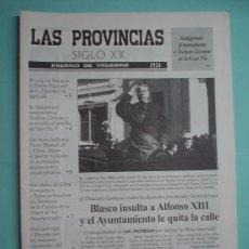 Coleccionismo de Revistas y Periódicos: DIARIO. LAS PROVINCIAS SIGLO XX. ANUARIO DE VALENCIA. 1924-1925. PERIÓDICO RESUMEN. Lote 30410479
