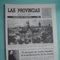 Coleccionismo de Revistas y Periódicos: DIARIO. LAS PROVINCIAS SIGLO XX. ANUARIO DE VALENCIA. 1928 -1929. PERIÓDICO.. Lote 30410587