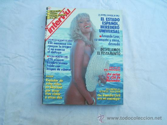 Interviu Nº 664 Amanda Lear Desnuda La Ultima Sold At Auction