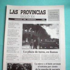 Coleccionismo de Revistas y Periódicos: LAS PROVINCIAS SIGLO XX. ANUARIO DE VALENCIA. 1946 -1947. DIARIO. PERIODICO. Lote 30439628
