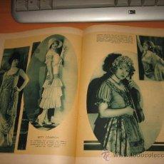 Coleccionismo de Revistas y Periódicos: LA ACTRIZ BETTY COMPSON 2 HOJAS REVISTA BLANCO Y NEGRO 1931. Lote 30447691