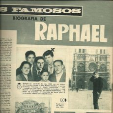 Coleccionismo de Revistas y Periódicos: REVISTA DIGAME Nº 1.370 DEL 5 DE ABRIL DE 1966 PORTADA MANOLO ESCOBAR. Lote 30555273