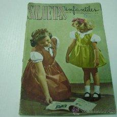 Coleccionismo de Revistas y Periódicos: REVISTA SILUETAS INFANTILES - Nº 26 - MODA INFANTIL Y JUVENIL - AÑOS 50. Lote 30586918