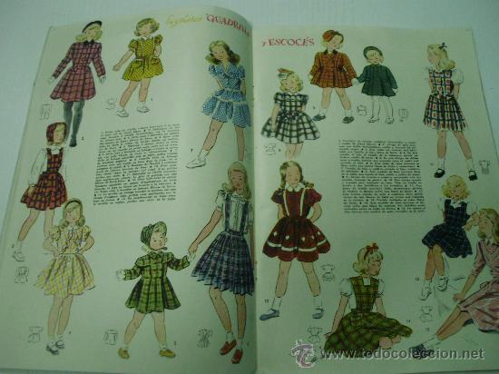 moda infantil anos 50