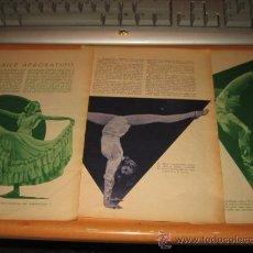 Coleccionismo de Revistas y Periódicos: EL BAILE ACROBATICO 3 HOJAS REVISTA BLANCO Y NEGRO 1936. Lote 30603617