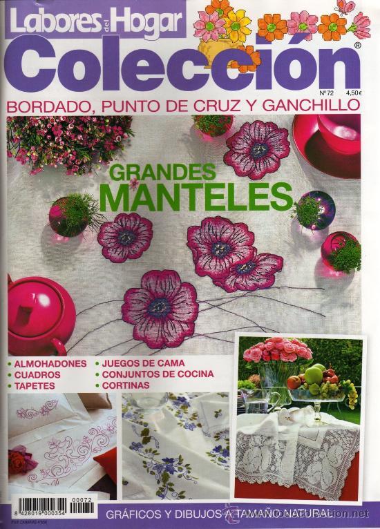 LABORES DEL HOGAR COLECCION N. 72 - TEMA DE PORTADA: GRANDES MANTELES (NUEVA) (Coleccionismo - Revistas y Periódicos Modernos (a partir de 1.940))