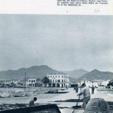 Coleccionismo de Revistas y Periódicos: POLLENSA 1956 MALLORCA GUIA TURISTICA HOJA REVISTA. Lote 30654285