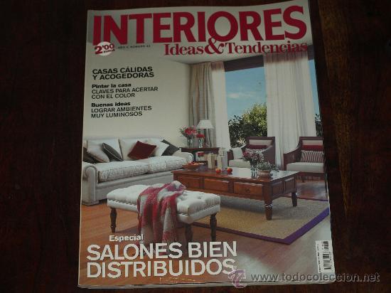 revista de decoracion interiores ideas u tendencias ao numero