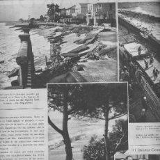 Coleccionismo de Revistas y Periódicos: LA VANGUARDIA.AÑO 1934.TEMPORAL.FOTOS DE CALDETAS.CALDETES.ARENYS DE MAR.PASEO DE LOS INGLESES. Lote 30718553
