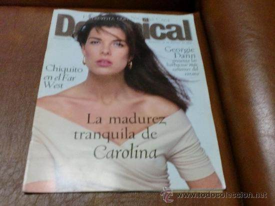 REV. DOMINICAL 8/1996 CAROLINA AMPLIO RPTJE.ISABELLE ADJANI,NICOLAS CAGE,S. PETESSBURGO (Coleccionismo - Revistas y Periódicos Modernos (a partir de 1.940) - Otros)