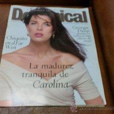 Coleccionismo de Revistas y Periódicos: REV. DOMINICAL 8/1996 CAROLINA AMPLIO RPTJE.ISABELLE ADJANI,NICOLAS CAGE,S. PETESSBURGO. Lote 30720730