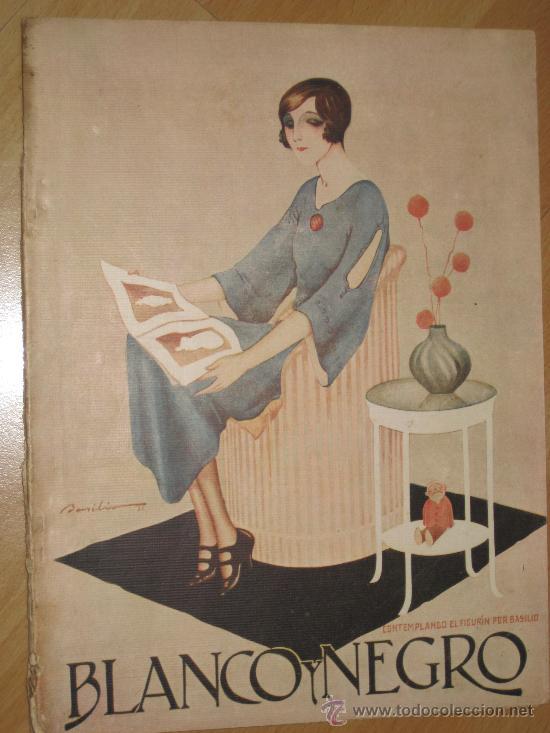 REVISTA BLANCO Y NEGRO.21 DE MAYO 1922 (Coleccionismo - Revistas y Periódicos Antiguos (hasta 1.939))