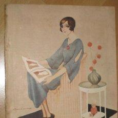 Coleccionismo de Revistas y Periódicos: REVISTA BLANCO Y NEGRO.21 DE MAYO 1922. Lote 30728069