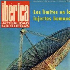 Coleccionismo de Revistas y Periódicos: REVISTA IBÉRICA DE ACTUALIDAD CIENTÍFICA Nº19 - ENERO 1964. Lote 30772258