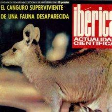 Coleccionismo de Revistas y Periódicos: REVISTA IBÉRICA DE ACTUALIDAD CIENTÍFICA Nº30 - DICIEMBRE 1964. Lote 30772319