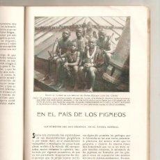 Coleccionismo de Revistas y Periódicos: HOJAS SELECTAS.AÑOS 20.TRIBUS AFRICANAS.PIGMEOS.VITRALLS.VIDRIERAS.CALDES DE MONTBUI.PRAT DALT.BALME. Lote 30802958