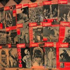 Coleccionismo de Revistas y Periódicos: SUPER LOTE DE 18 REVISTAS PERIODICOS DE VARIEDADS * VINTAGE AÑOS 60 * DIGAME. Lote 30830120