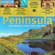 Coleccionismo de Revistas y Periódicos: REVISTA TURISMO - PENINSULA Nº 33 - SOMIEDO/ CUDILLERO - ISLAS MEDAS - SEGOVIA - GALICIA - ALICANTE. Lote 181202580