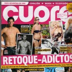 Coleccionismo de Revistas y Periódicos: REVISTA CUORE Nº 297- 14 DE ENERO DEL 2012 · EN PORTADA: RETOQUE-ADICTOS - 100 PÁGINAS -. Lote 30871089