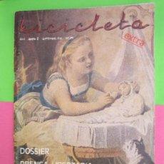 Coleccionismo de Revistas y Periódicos: BICICLETA EXTRA , PRENSA LIBERTARIAS 1978 , ANARQUISMO, N. 8. Lote 30894135