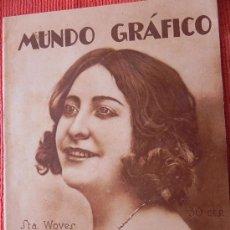 Coleccionismo de Revistas y Periódicos: ANTIGUA REVISTA MUNDO GRÁFICO.. Nº 543.GUERRA DE ÁFRICA. 1922. (FG00095).. Lote 30896369