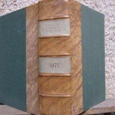 Coleccionismo de Revistas y Periódicos: CUADERNOS PARA EL DIALOGO - AÑO 1971 COMPLETO + 5 NUMEROS EXTRAS - LUJOSA ENCUADERNACION. Lote 30995155