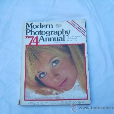 Coleccionismo de Revistas y Periódicos: MODERN PHOTOGRAPHY 74 ANNUAL. Lote 30999886