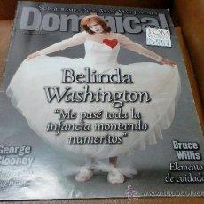 Coleccionismo de Revistas y Periódicos: REV DOMINICAL 6/97 BELINDA WASHINGTON AMPLIO RPTJESUPERTRAMP=SUPERVAGABUNDO.. Lote 31002721