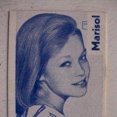 Coleccionismo de Revistas y Periódicos: MARISOL.REVISTA GUIA TURIA, MARISOL EN CONTRAPORTADA.. Lote 31008138