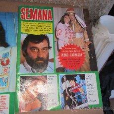 Coleccionismo de Revistas y Periódicos: SEMANA, DICIEMBRE 1973. Lote 31008809