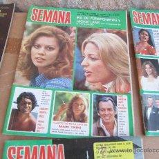 Coleccionismo de Revistas y Periódicos: SEMANA, MAYO 1974. Lote 31009035