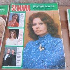 Coleccionismo de Revistas y Periódicos: SEMANA, MAYO 1974. Lote 31009079