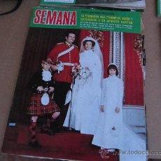 Coleccionismo de Revistas y Periódicos: SEMANA,NOVIEMBRE 1973. Lote 31009182