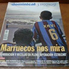 Coleccionismo de Revistas y Periódicos: REV DOMINICAL 7/05 MARRUECOS AMPLIO RPTJE.MCENCROE, JUAN GENOVÈS,TEATRO, KAMENI.. Lote 31032844