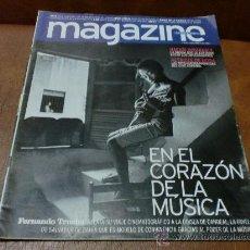 Coleccionismo de Revistas y Periódicos: REV MAGAZINE 9/2004 EL CORAZON DE LA MUSICA -AMPLIO RPTJE.,GAUGUIN,MATT DAMON,MUSEO CIENCIA. Lote 31064343