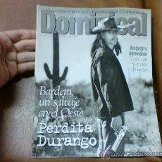 Coleccionismo de Revistas y Periódicos: REV DOMINICAL 1/97 BARDEM/ AMPLIO RPTJE.CAROLINA, AMENÁBAR,JORDI MOLLA,BETTE MIDLER,. Lote 31125373