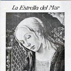 Coleccionismo de Revistas y Periódicos: LA ESTRELLA DEL MAR.- REVISTA QUINCENAL ILUSTRADA.-MADRID.-NUMERO 407.- 24 DE DICIEMBRE DE 1935.-. Lote 31132931